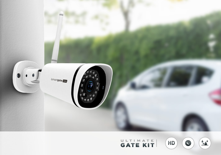 Full Gate automation kit with Video Surveillance